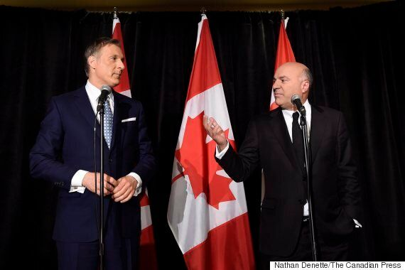 Kevin O'Leary Drops Out Of Tory Leadership Race, Endorses Maxime