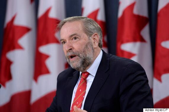 Mulcair: Trudeau Must Stop 'Backing Up' For 'Bully' Donald