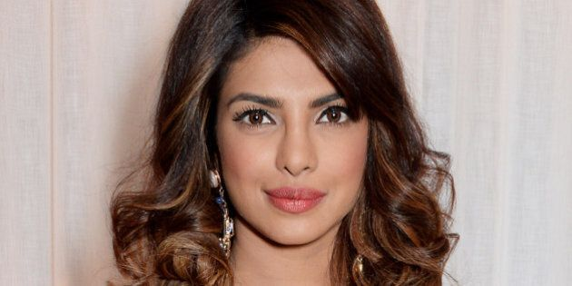 LONDON, ENGLAND - JANUARY 20: Priyanka Chopra attends the 'GUESS Loves Priyanka' VIP Dinner at the London...