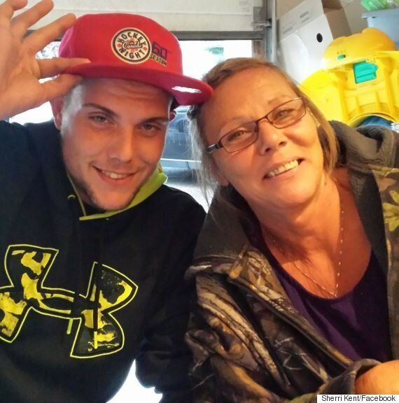 Sherri Kent, Calgary Mom, Posts Photo With Dying Son To Warn About