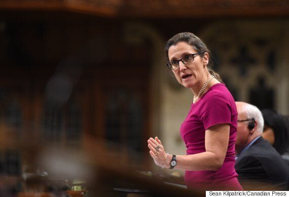 Chrystia Freeland: Israel's Security At Core Of Canada's Middle East