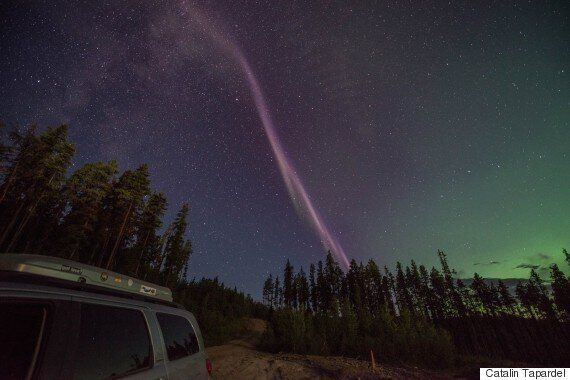 Alberta Aurora Chasers Discover A New Night Sky Aurora Called