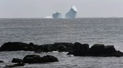The Enormous Ferryland Iceberg Is Drifting Out To