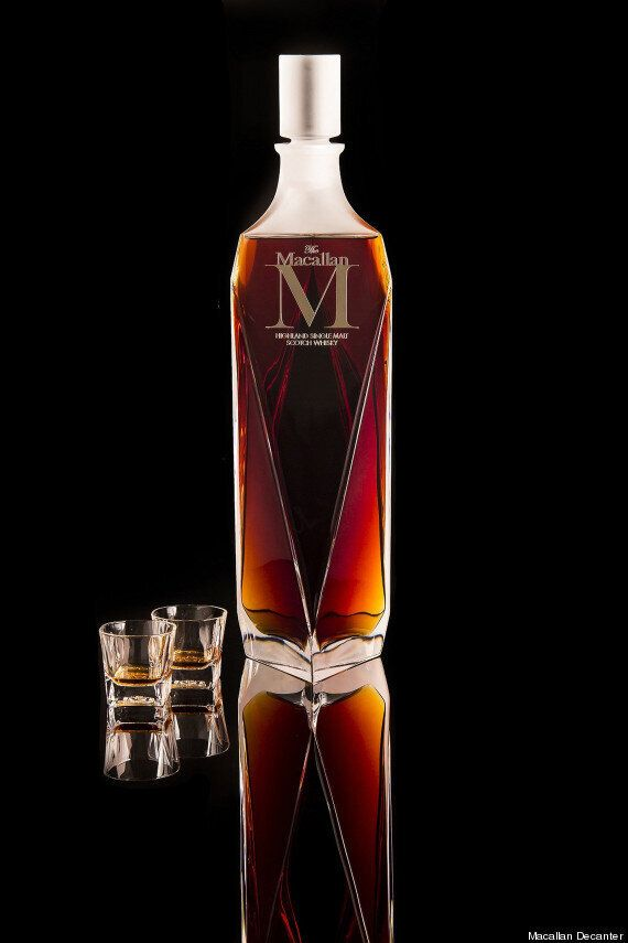 Macallan 'M' Decanter Malt Whisky Sells For $628,000 In