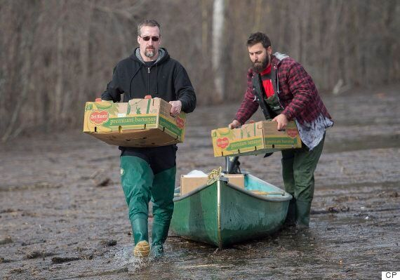 Quebec Floods: Hundreds Of Homes Affected By Rising Water