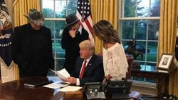 Sarah Palin Visited The White House.. With Kid Rock And Ted