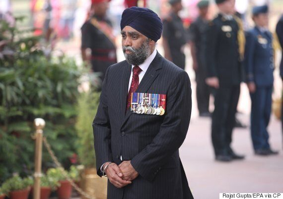 Harjit Sajjan Asked In India About Ontario Recognizing Anti-Sikh Riots As