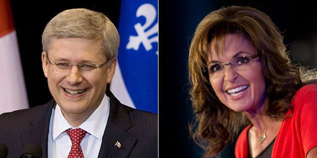 Sarah Palin Really Loves Stephen Harper And His Stance On
