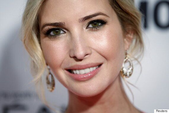 Ivanka Trump's Eyes Seem To Be Changing Colour, And This Is Probably