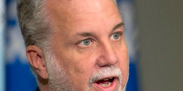 Quebec's Couillard Government Is Selling