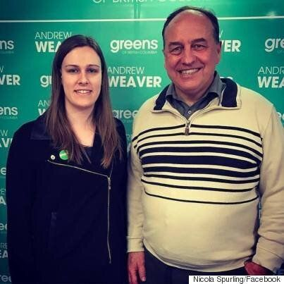 Nicola Spurling, B.C. Green Party Candidate, Outed As Transgender On