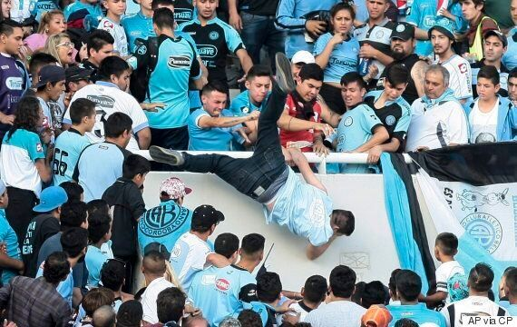 Emanuel Balbo, Argentine Soccer Fan Allegedly Thrown From Stands, Dies From