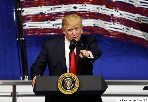 Donald Trump Hammers Canada's Supply Management System For