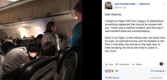 WestJet Passenger Thanks Airline For Treating People With