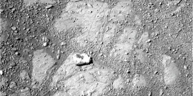 Mars Mystery Rock 'Looks Like A Jelly