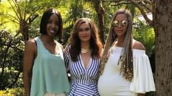 Beyoncé Shows Off Stellar Pregnancy Curves At Easter