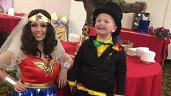 6-Year-Old In Palliative Care Gets His Wish To Marry Wonder