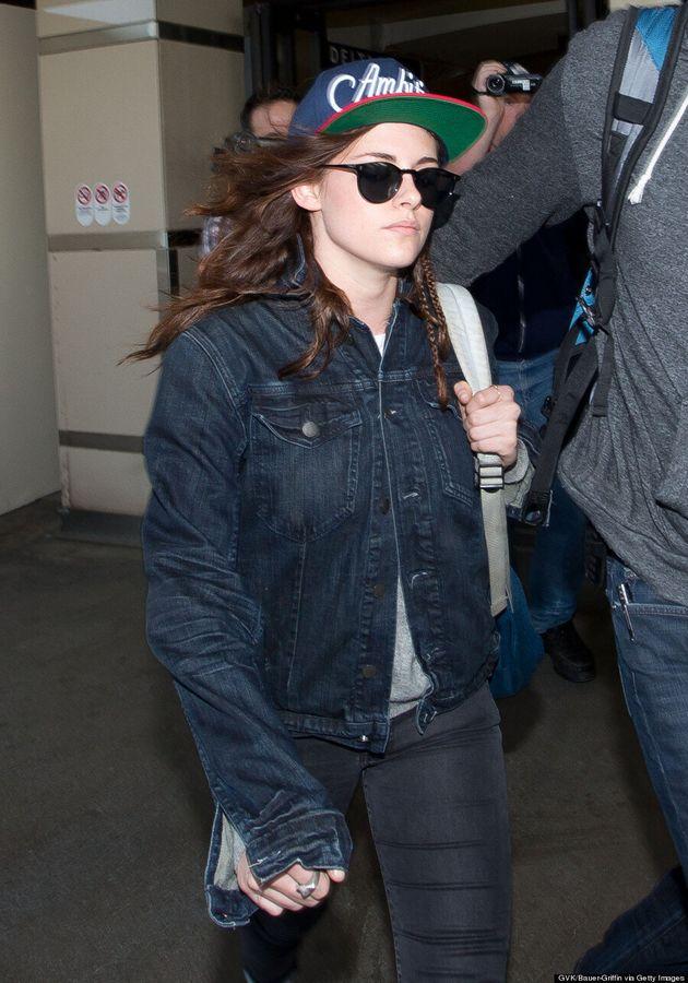 Kristen Stewart Shows Off Pretty Braids At 2014 Sundance Film Festival