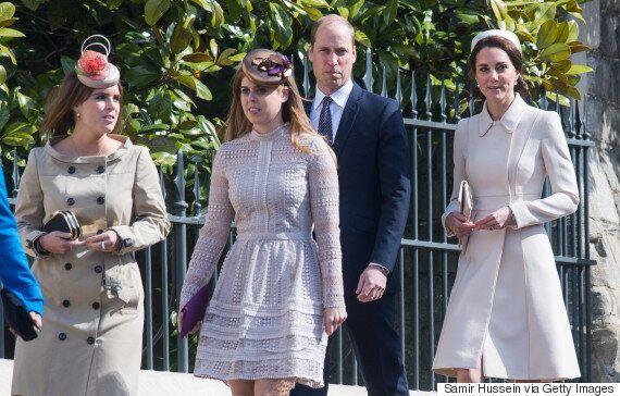 Prince William, Kate Middleton, Queen Elizabeth II Celebrate Easter Service At Windsor