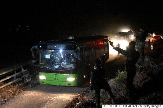 Syrian Evacuation Buses Hit Car Bomb, Over 100