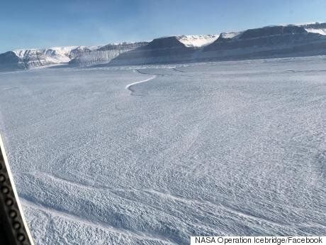 Greenland Glacier Rift Could Worsen Rising Sea