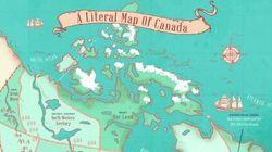 Map Reveals Name Origins Of Canada's Provinces And