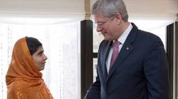 Tories Salute Harper For Spearheading Malala's Honorary
