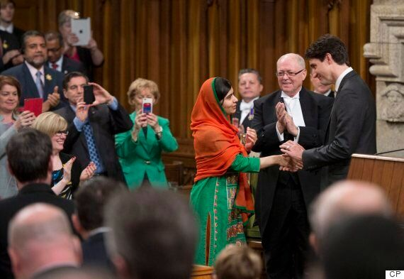 Malala Yousafzai's Speech To Canada's Parliament Wasn't Just Moving. It Was Funny,
