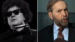 WATCH: Mulcair Mocks Tories In 22 Minutes' Bob Dylan