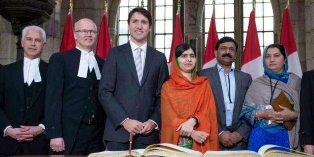 Malala Yousafzai Receives Honorary Canadian