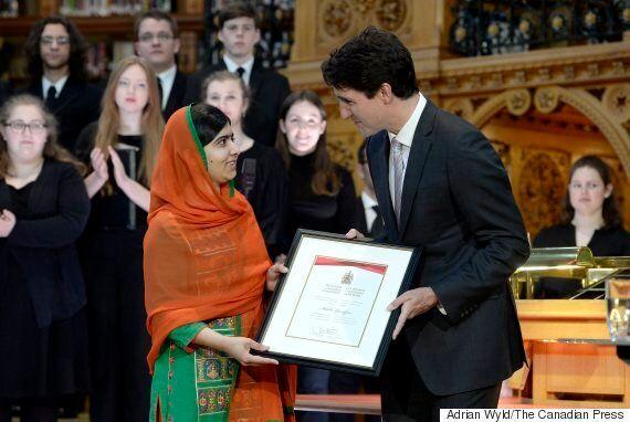 Malala Yousafzai Receives Honorary Canadian