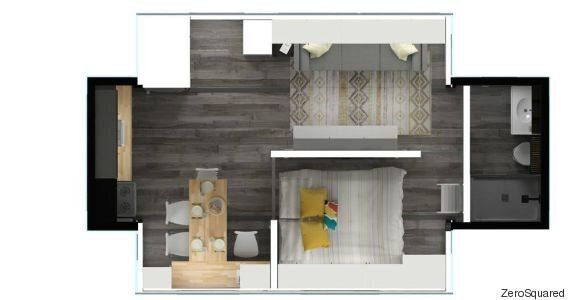 Aurora Tiny Home Gets Bigger With The Push Of A