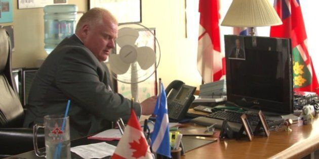 Rob Ford's New Campaign Video Highlights 'Customer Service,' Phone