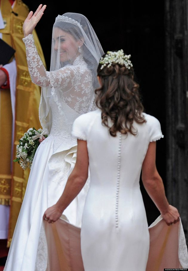 Pippa Middleton Accused Of Wearing Fake Bum For Royal