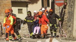 Italy Earthquake Rains Boulders Onto