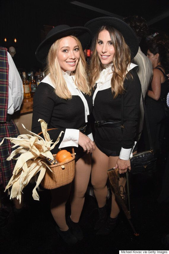 Hilary Duff's Halloween Costume Was Totally
