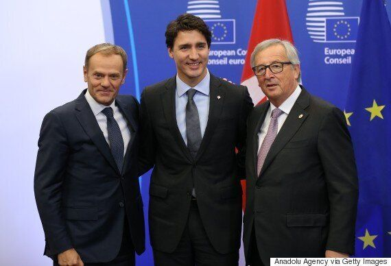 CETA Trade Deal With EU Signed By Trudeau In