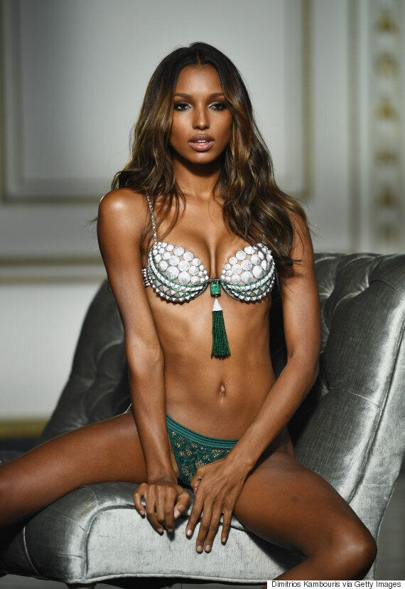 Victoria's Secret Releases Unretouched Photos Of Jasmine Tookes Wearing 2016 Fantasy
