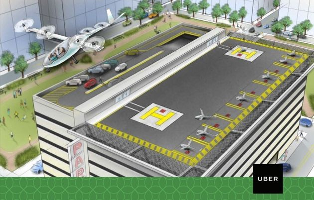 Commuting By Aircraft Could Be A Thing In 10 Years, Uber