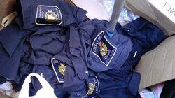 Border Agency Uniforms Found In Vancouver