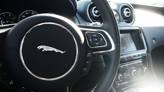 Jaguar's Flagship Luxury Sedan Is All About Style And