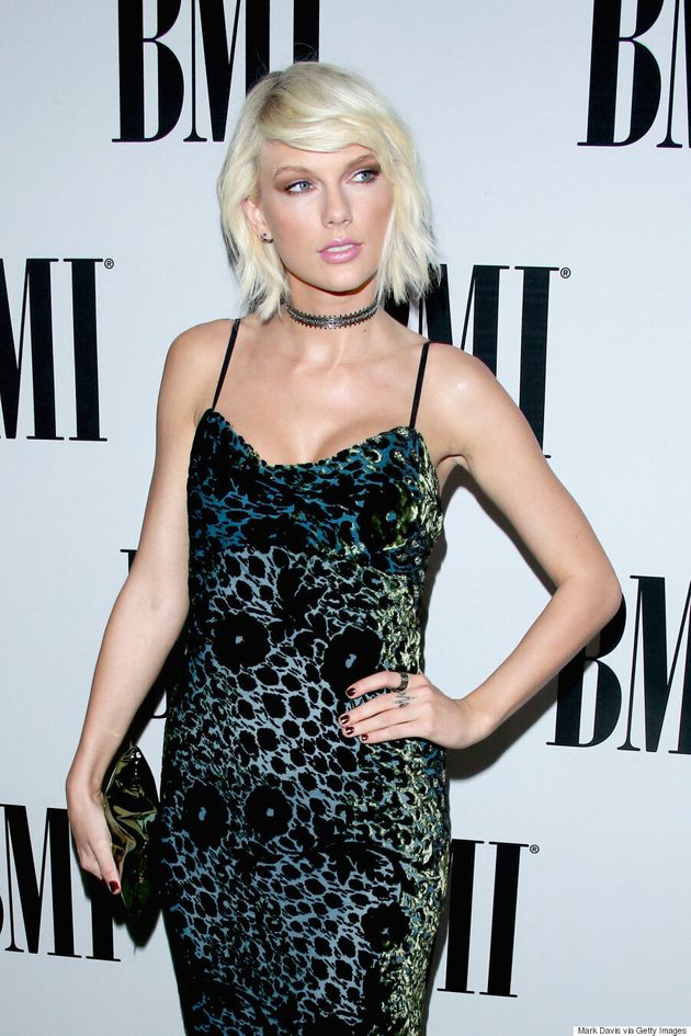 Taylor Swift Continues Edgy Style Streak At BMI Pop