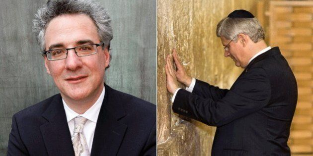 Mark Adler, Tory MP, Pleads To Get In 'Million Dollar Shot' Of Harper At Holy Site