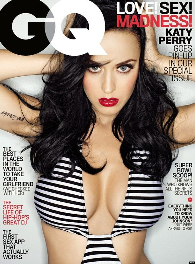 Katy Perry's GQ Swimsuit Is Easy On The Eyes (VIDEO,