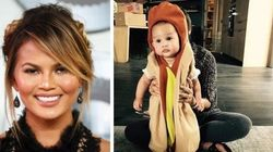 Chrissy Teigen Can't Stop Dressing Up Baby Luna For