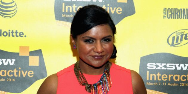 AUSTIN, TX - MARCH 09:  Actress/comedian Mindy Kaling attends 'Running the Show: TV's New Queen of Comedy' during the 2014 SXSW Music, Film + Interactive Festivalat Austin Convention Center on March 9, 2014 in Austin, Texas.  (Photo by Travis P Ball/Getty Images for SXSW)