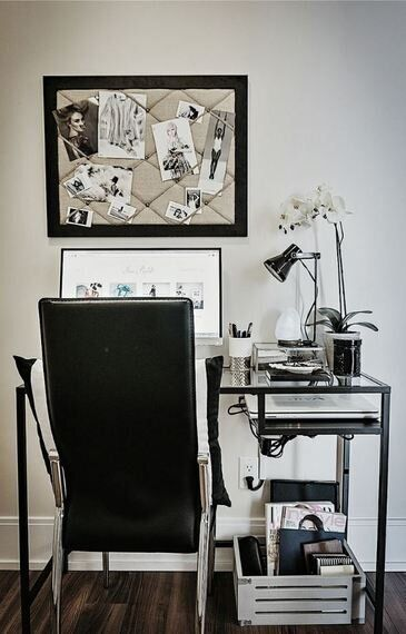 Home Office Decor For Tiny