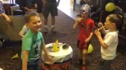 ► 5-Year-Old Fort Mac Evacuee Stunned By Surprise Birthday