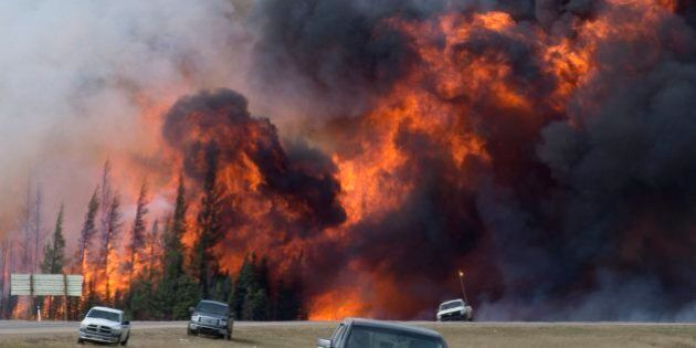 We Can't Blame Climate Change For The Fort McMurray