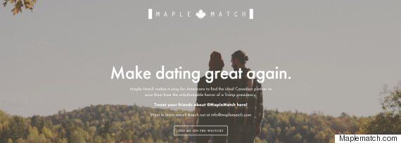 Dating Site Matches Donald Trump Opponents From The U.S. With